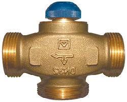 Терморегулирующий механический клапан
