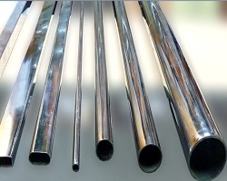 Хромированные трубы имеют различный диаметр и сечение