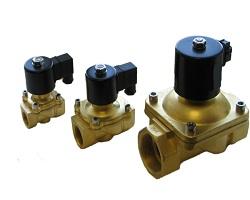 Газовый запорный электромагнитный клапан