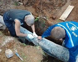 Утепление водопроводных труб в земле рубероидом