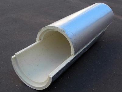 Утеплитель для вентиляционного канала с круглым сечением