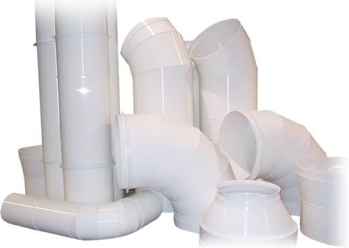 Виды пластиковых труб для вентиляции