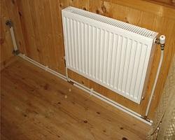 Радиатор на двухтрубном контуре
