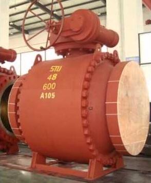 Запорный клапан 15кч18п большого диаметра
