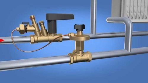 Применение автоматического балансировочного клапана в системе отопления