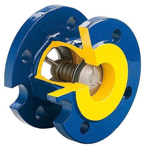 Аналог межфланцевого обратного клапана (обратный клапан Zetkama)