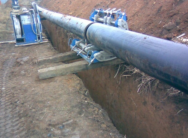 Охранная зона газопровода высокого давления