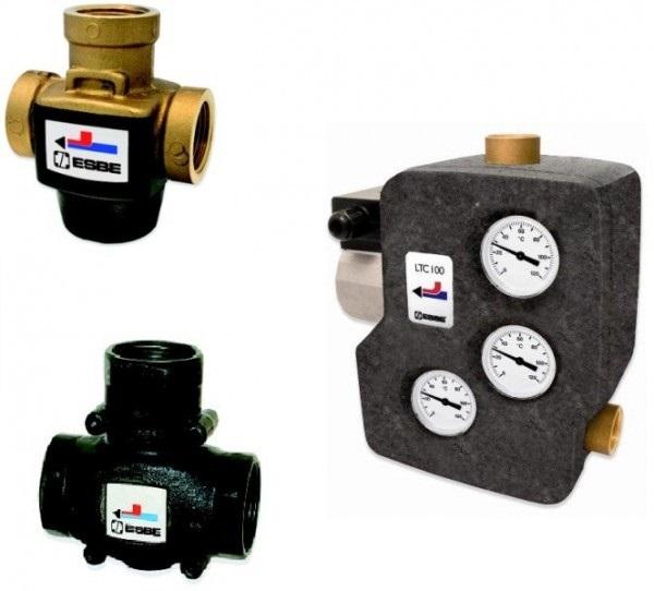 Термостатические смесительные клапаны VTC и LTC