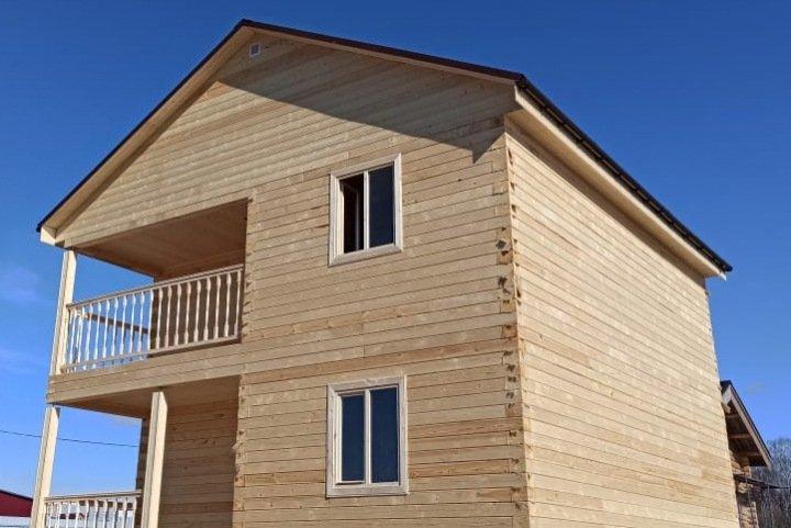 О строительной компании Вуд Брус: производителе недорогих бань и домов из бруса