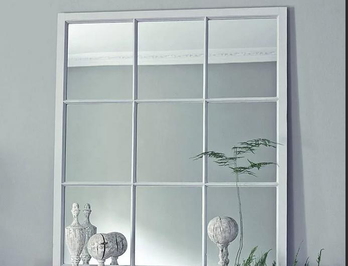 Как сделать настенные зеркальные окна?